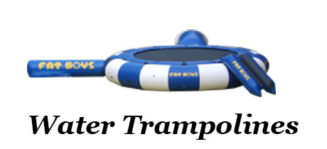 Sporting Goods - Banner - Water Trampolines